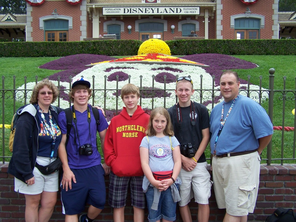 My family at Walt Disney World