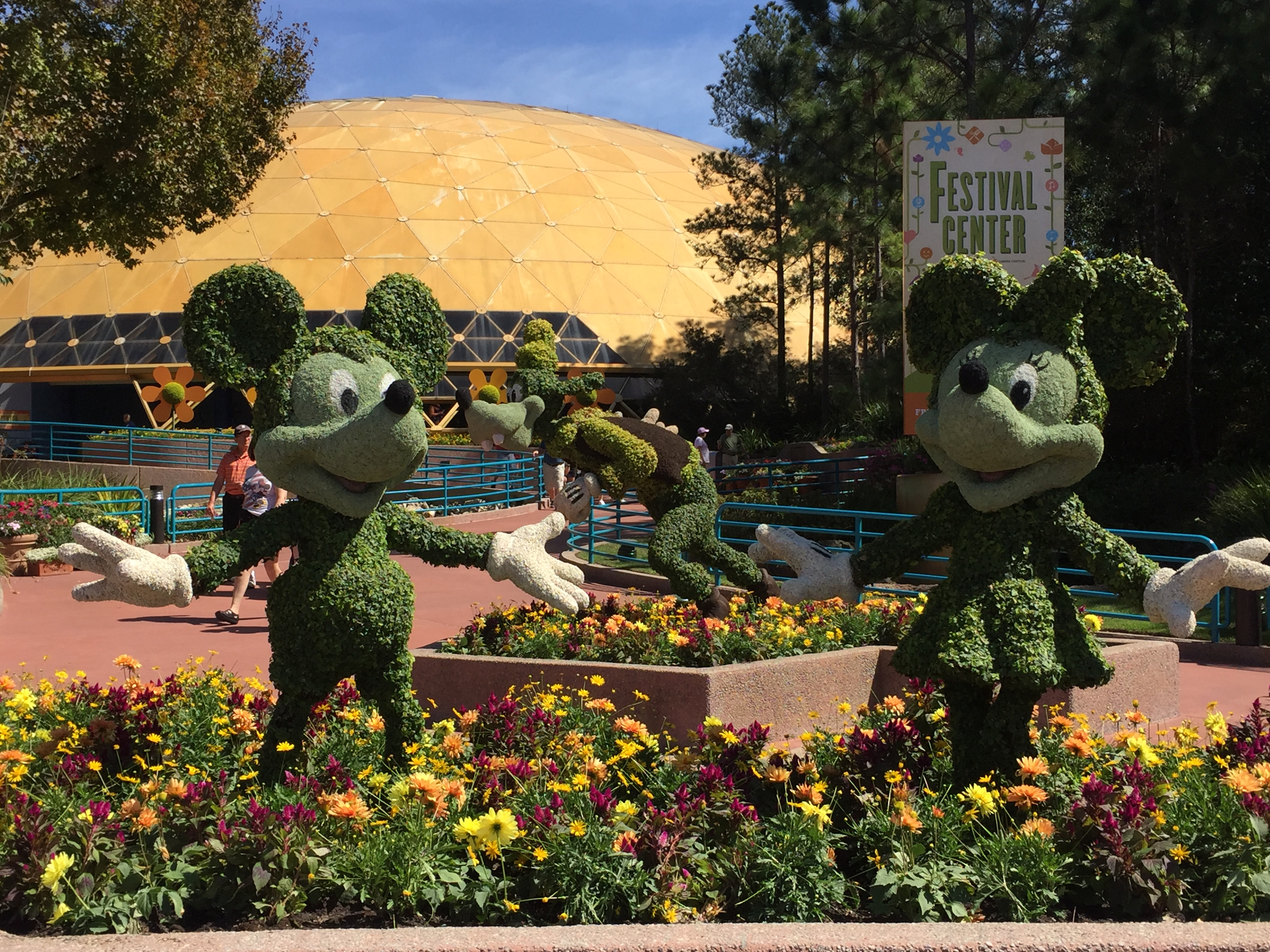 Epcot International Flower Garden Festival 2017 To Infinity And Beyond Travel
