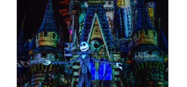 """Disney's Not-So-Spooky Spectacular' Fireworks – Hosted by Jack Skellington"