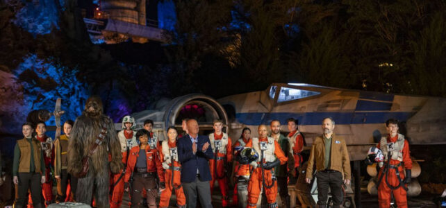 Star Wars: Rise of the Resistance Debuts at Star Wars: Galaxy's Edge at Disney's Hollywood Studios Today