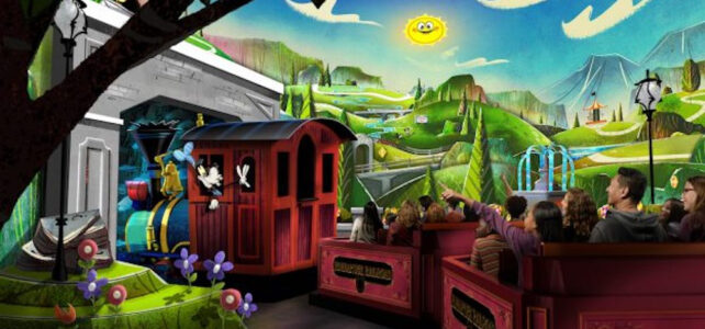 Mickey & Minnie's Runaway Railway Adds FastPass+ Service for Visits Beginning March 4