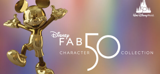 First 'Disney Fab 50' Sculpture Revealed for 50th Anniversary of Walt Disney World Resort, More Special Unveilings Coming